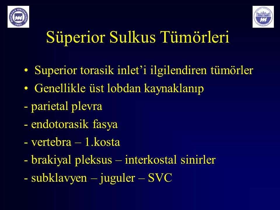 Süperior Sulkus Tümörleri