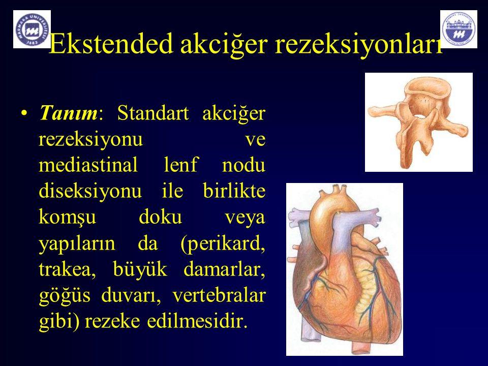 Ekstended akciğer rezeksiyonları