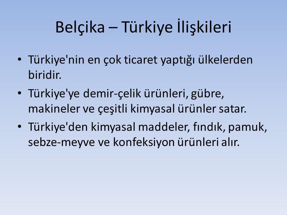Belçika – Türkiye İlişkileri