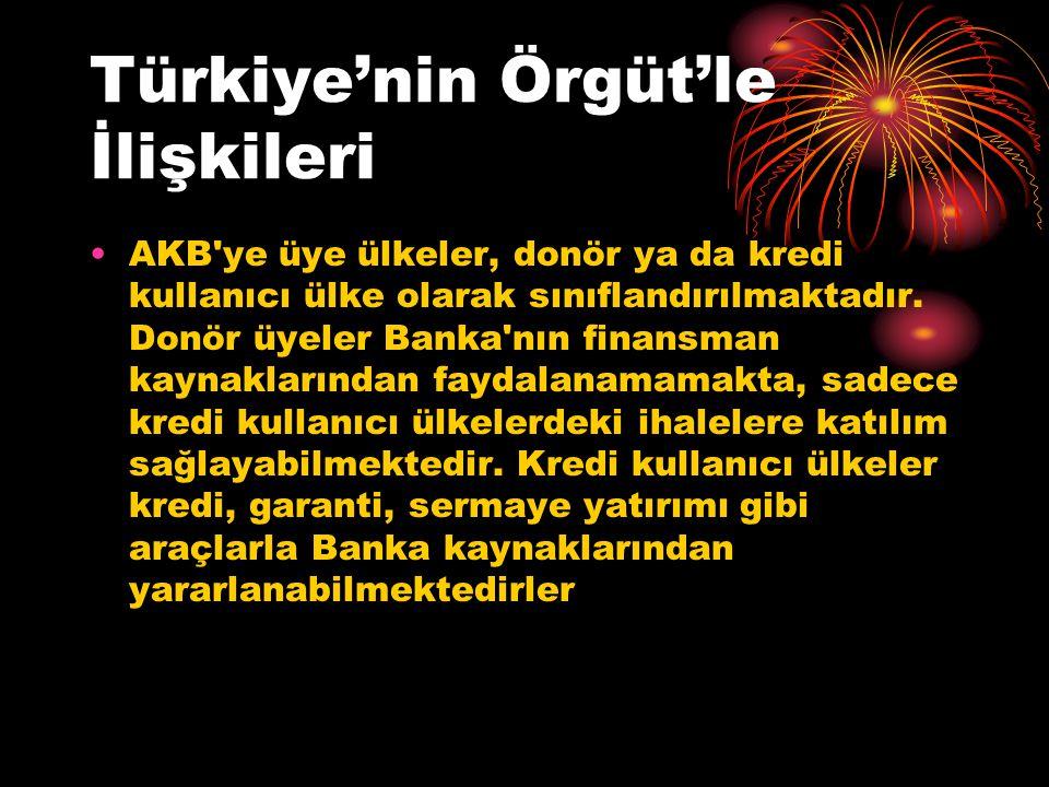 Türkiye'nin Örgüt'le İlişkileri