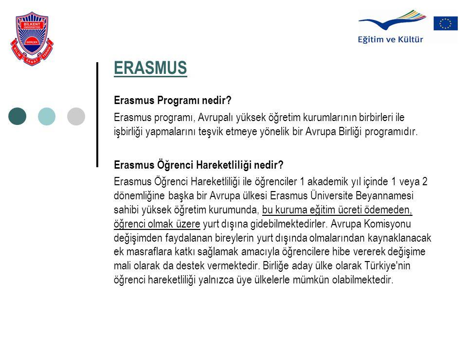 ERASMUS Erasmus Programı nedir