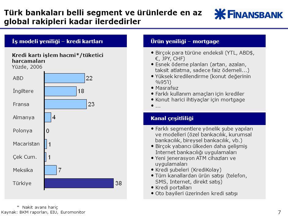 Bankaların artan şubeleri ve personel sayıları kaliteli personelin önemini arttırmıştır