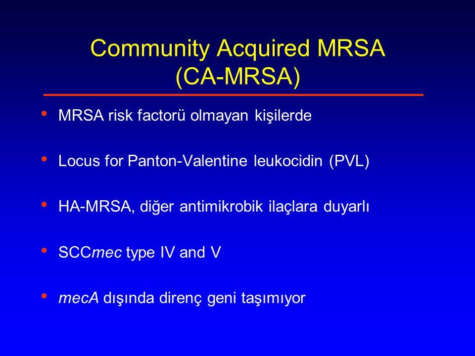 Community Acquired MRSA (CA-MRSA)