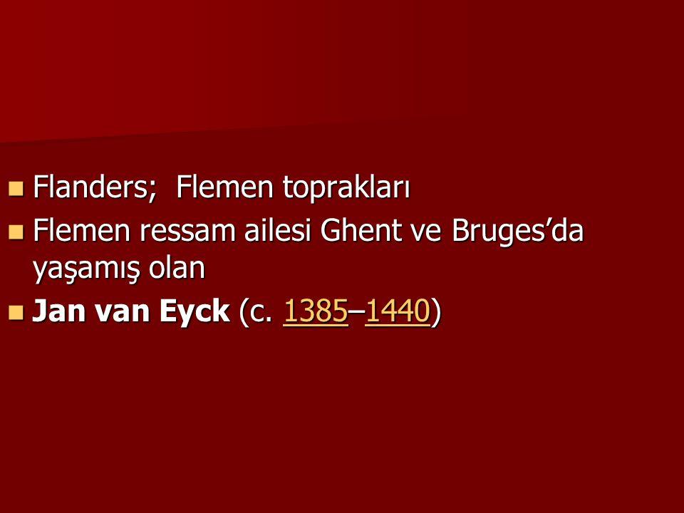Flanders; Flemen toprakları