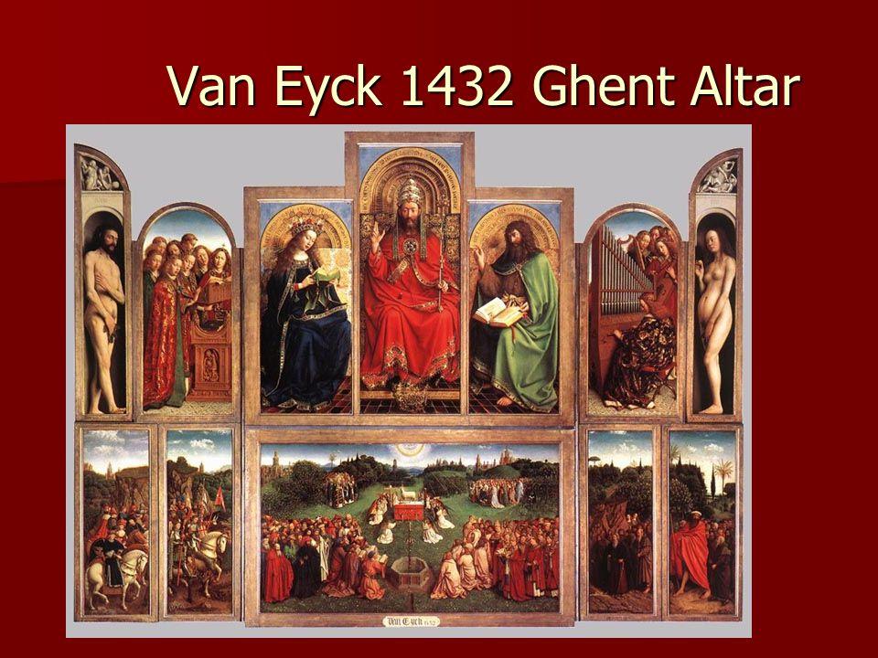 Van Eyck 1432 Ghent Altar