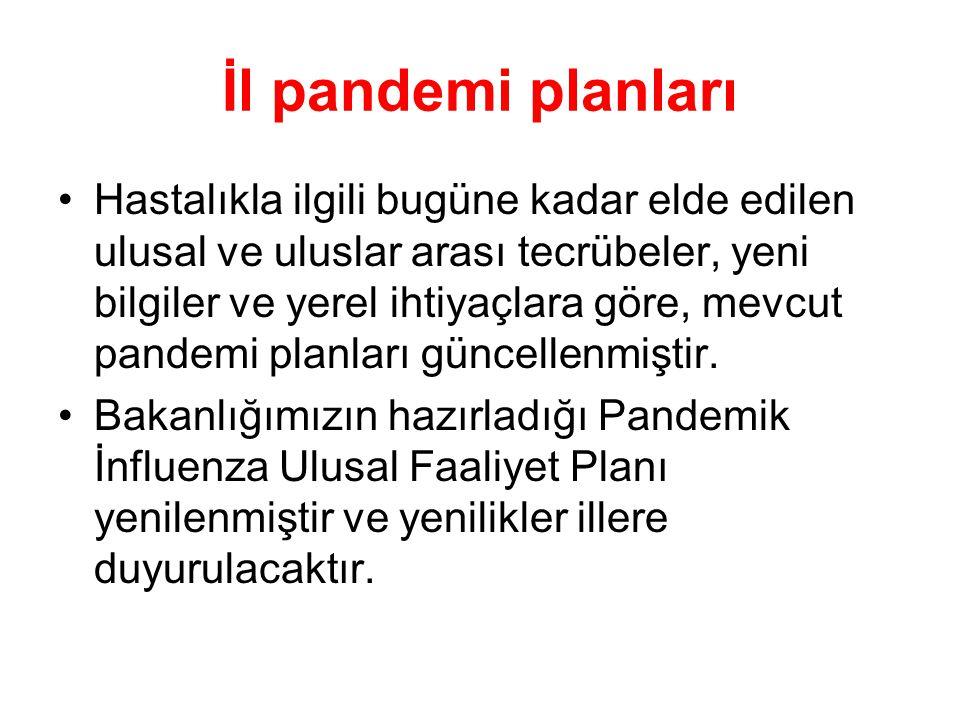 İl pandemi planları