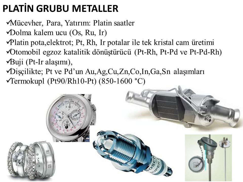 PLATİN GRUBU METALLER Mücevher, Para, Yatırım: Platin saatler
