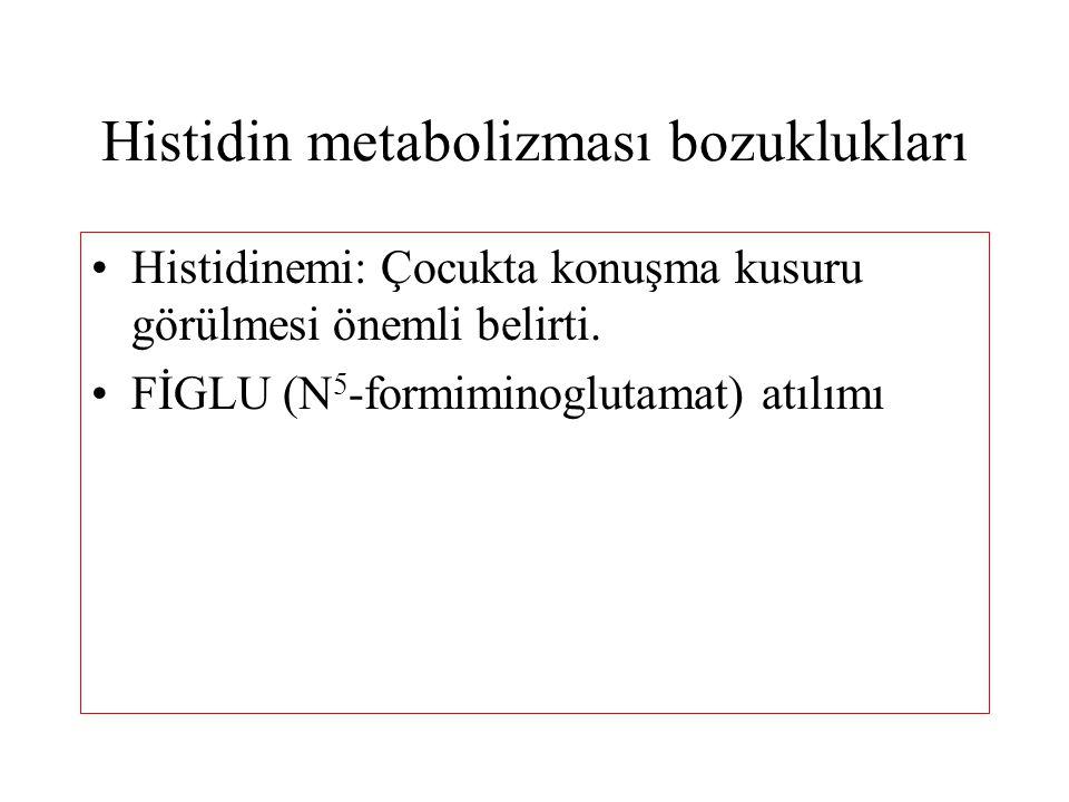 Histidin metabolizması bozuklukları