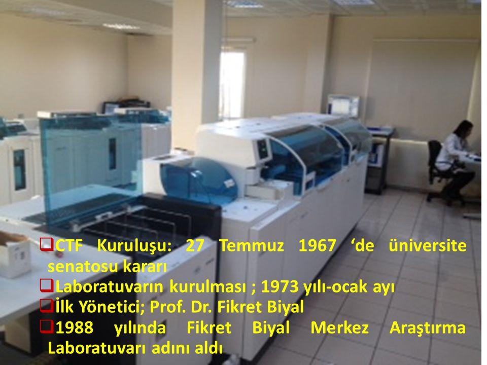 Laboratuvarımızın Tarihçesi