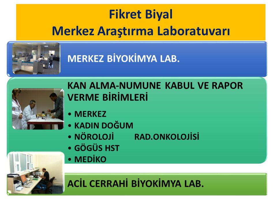 Fikret Biyal Merkez Araştırma Laboratuvarı