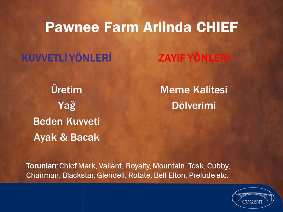 Pawnee Farm Arlinda CHIEF
