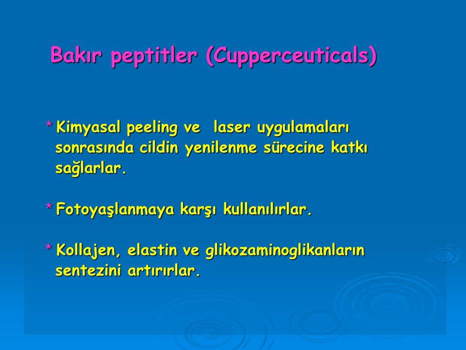 Bakır peptitler (Cupperceuticals)