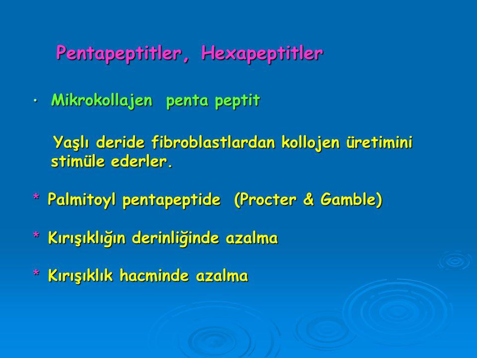 Pentapeptitler, Hexapeptitler