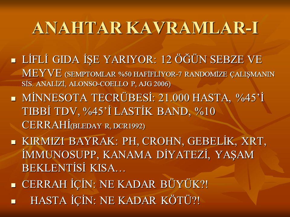 ANAHTAR KAVRAMLAR-I