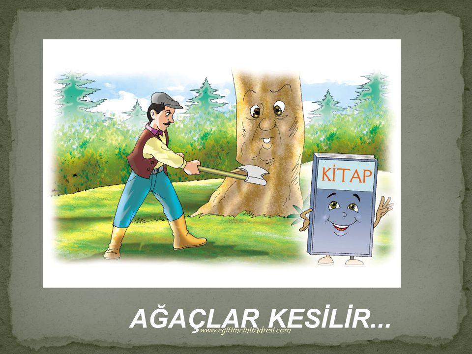 AĞAÇLAR KESİLİR... www.egitimcininadresi.com