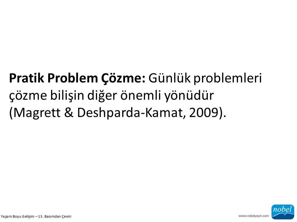 Pratik Problem Çözme: Günlük problemleri çözme bilişin diğer önemli yönüdür