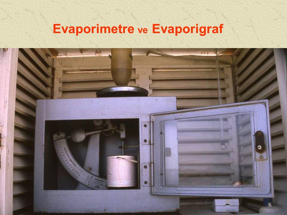 Evaporimetre ve Evaporigraf