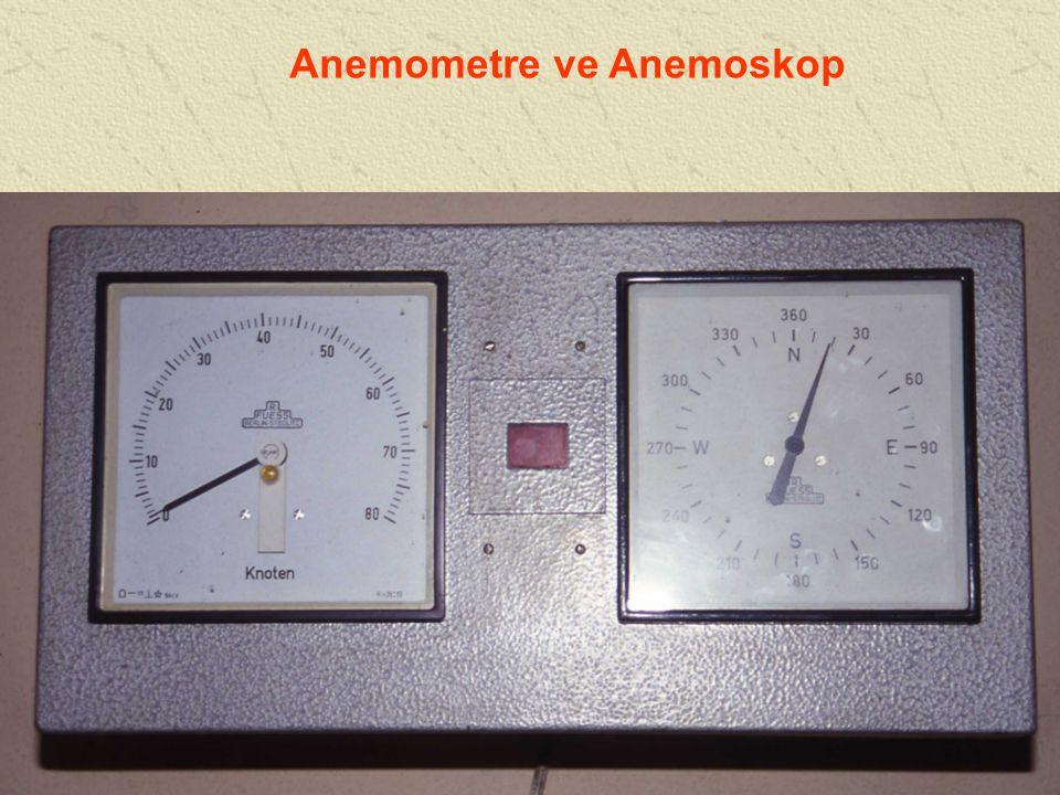 Anemometre ve Anemoskop