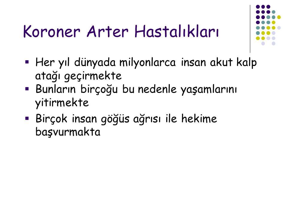 Koroner Arter Hastalıkları