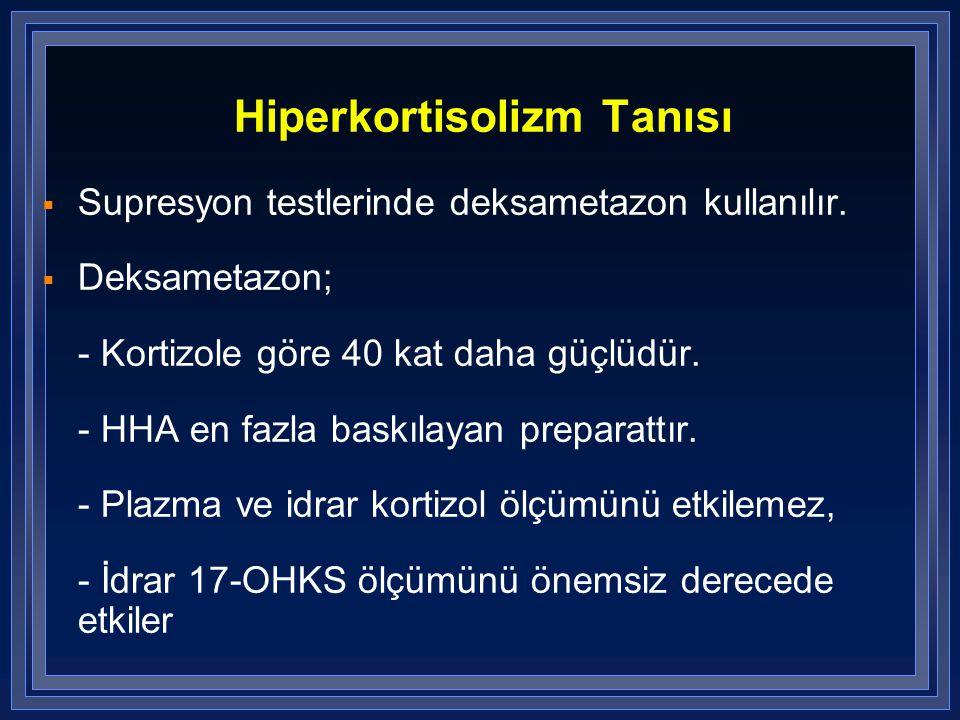 Hiperkortisolizm Tanısı