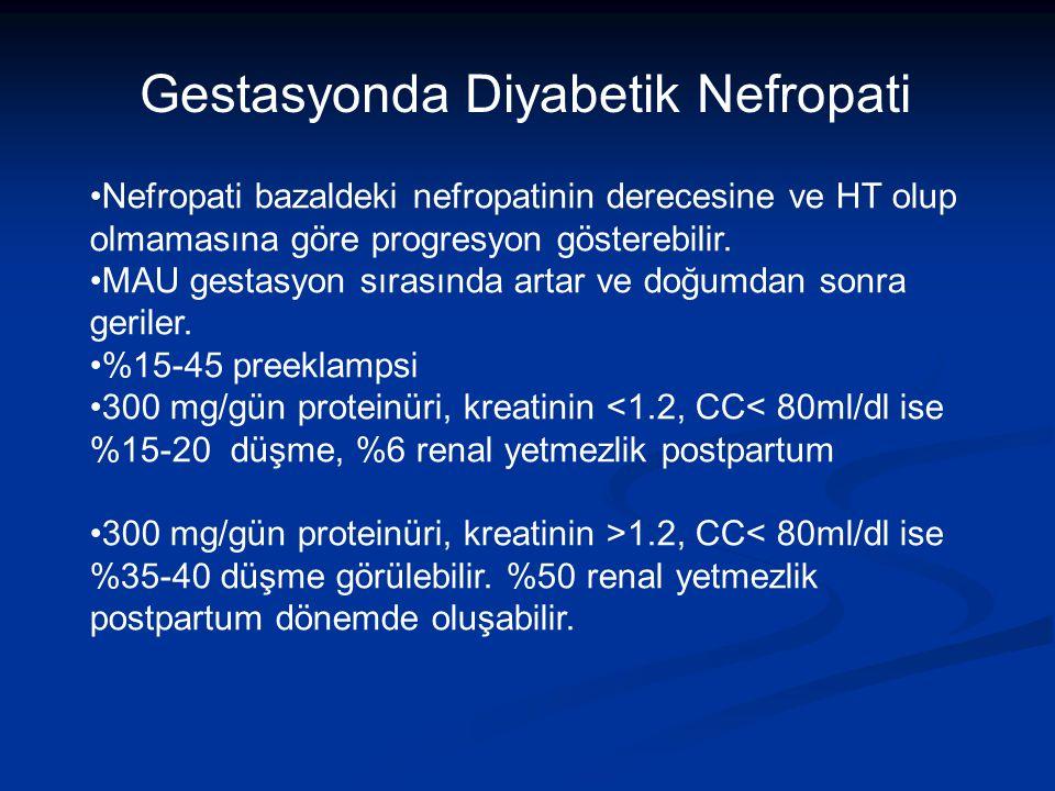 Gestasyonda Diyabetik Nefropati