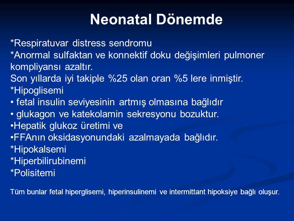 Neonatal Dönemde *Respiratuvar distress sendromu