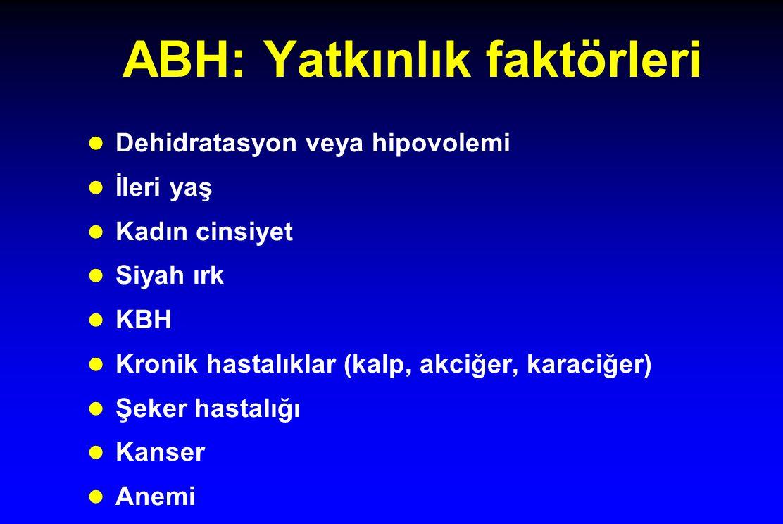 ABH: Yatkınlık faktörleri