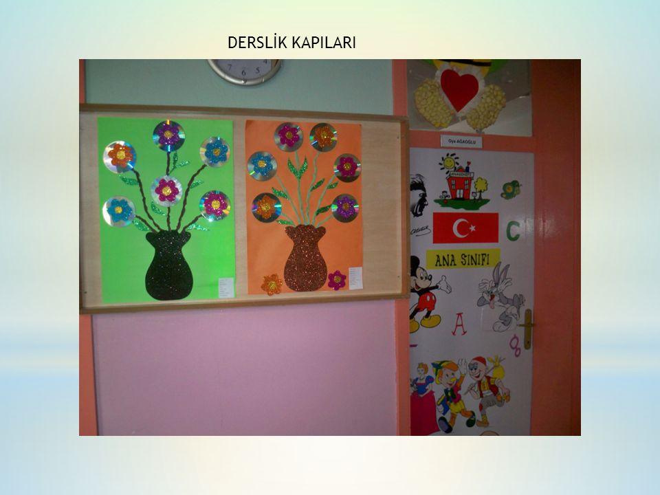 DERSLİK KAPILARI