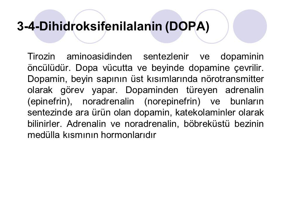 3-4-Dihidroksifenilalanin (DOPA)