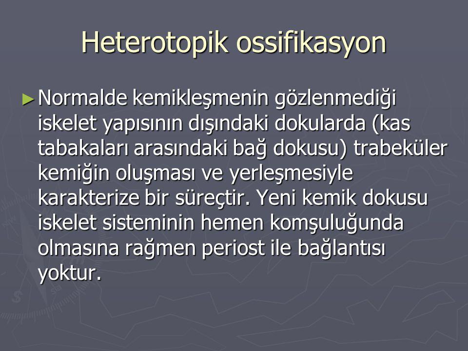 Heterotopik ossifikasyon