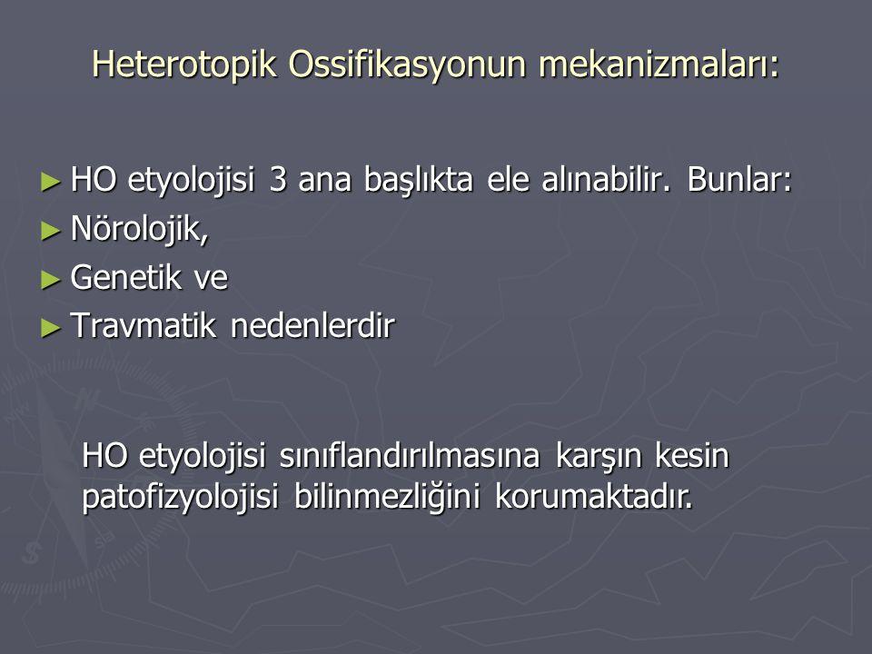 Heterotopik Ossifikasyonun mekanizmaları: