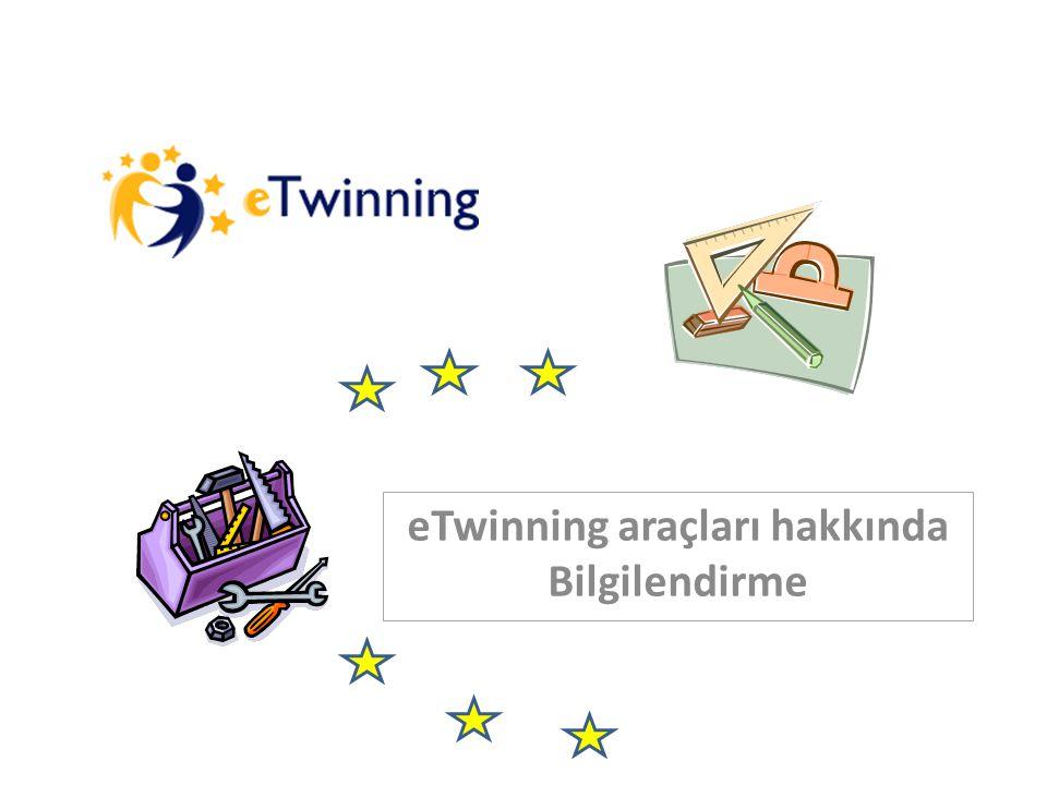 eTwinning araçları hakkında Bilgilendirme