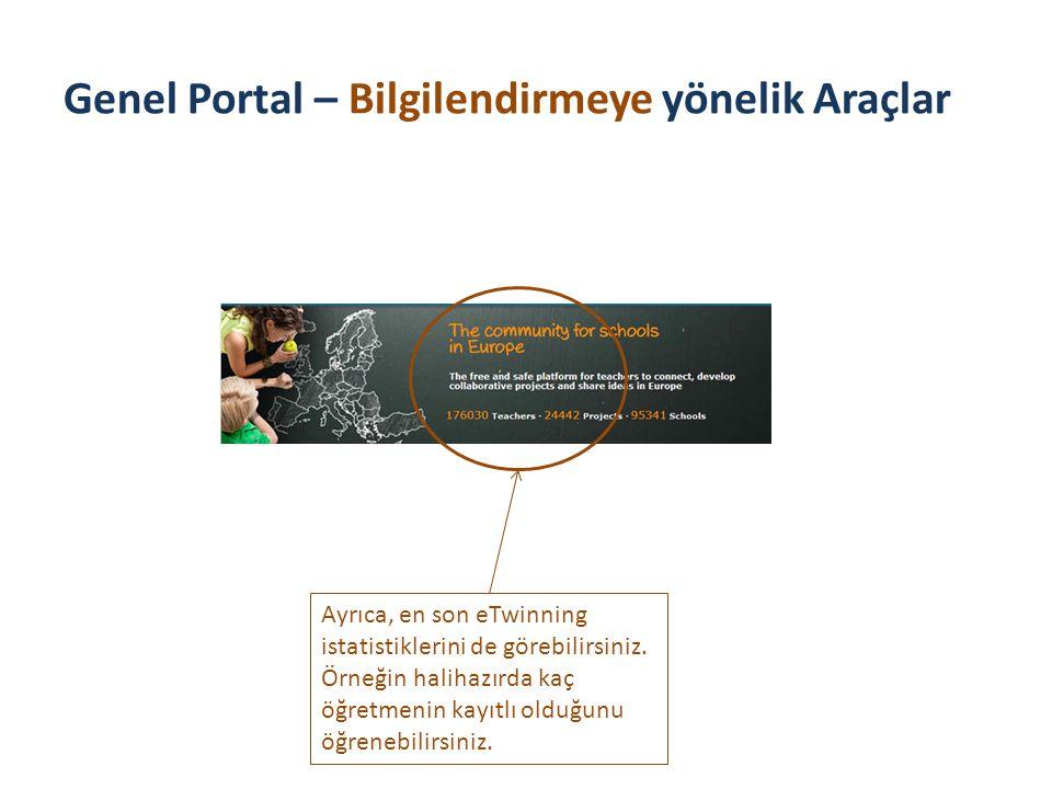 Genel Portal – Bilgilendirmeye yönelik Araçlar