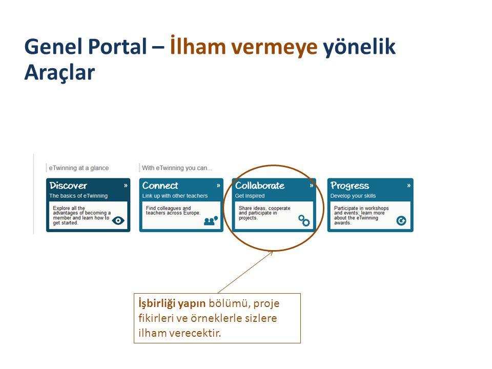 Genel Portal – İlham vermeye yönelik Araçlar