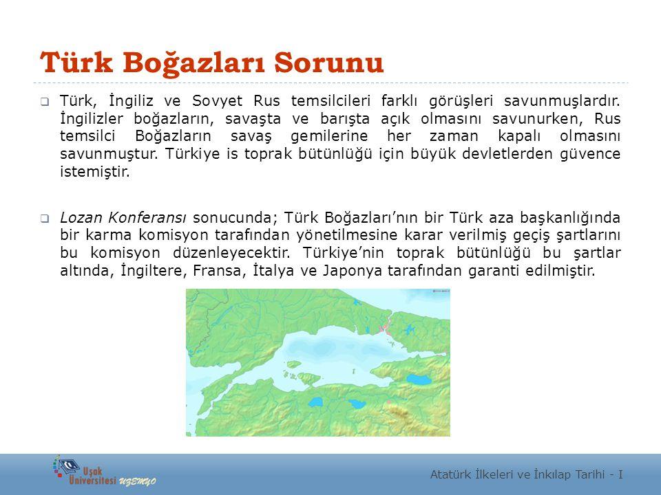 Türk Boğazları Sorunu