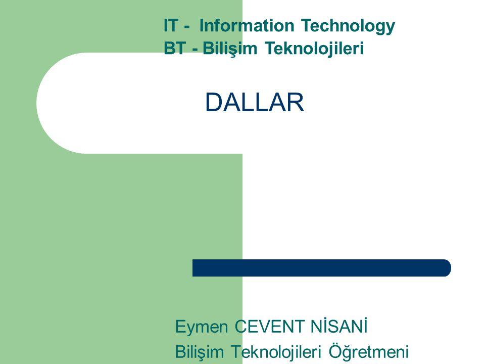 Eymen CEVENT NİSANİ Bilişim Teknolojileri Öğretmeni