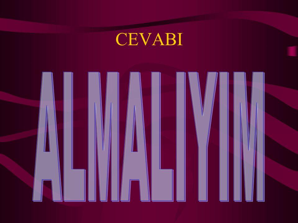 CEVABI ALMALIYIM