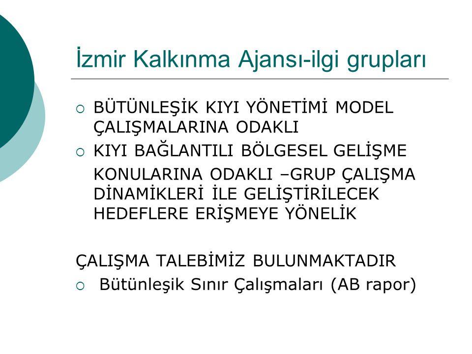 İzmir Kalkınma Ajansı-ilgi grupları