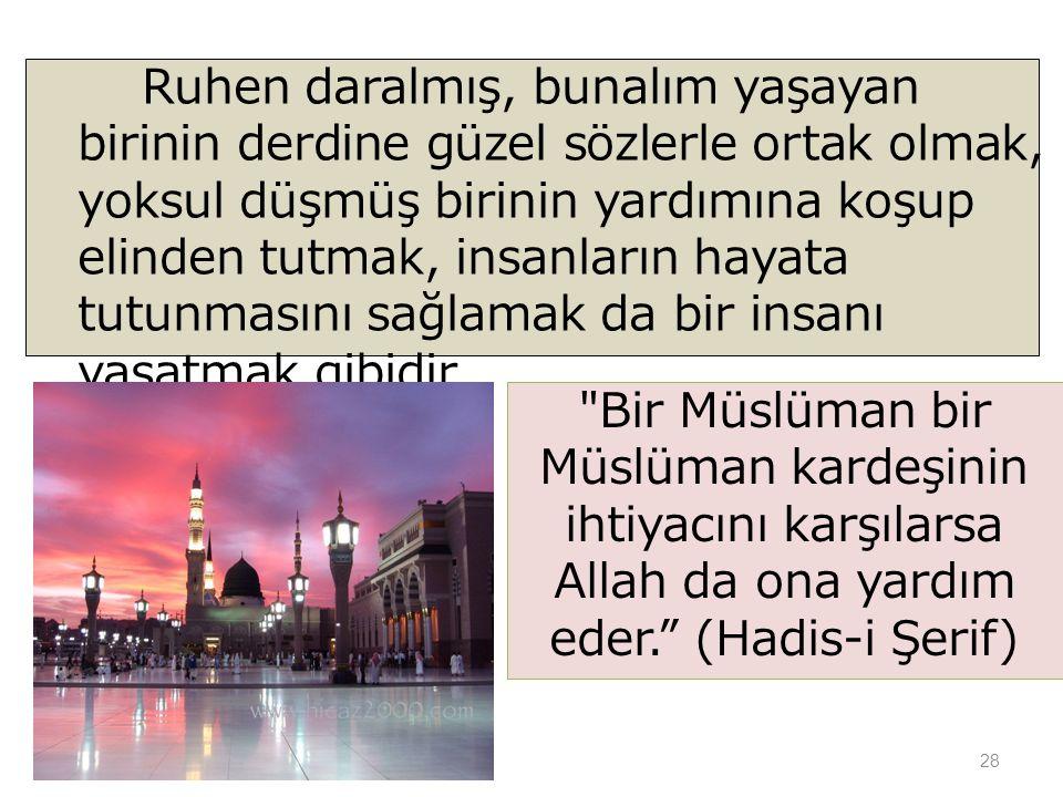 Bir Müslüman bir Müslüman kardeşinin