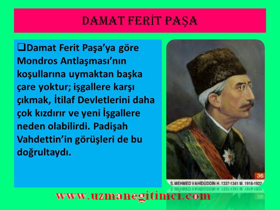 DAMAT FERİT PAŞA