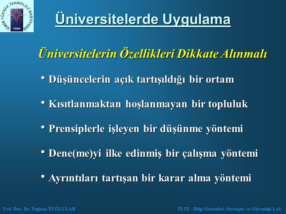 Üniversitelerde Uygulama