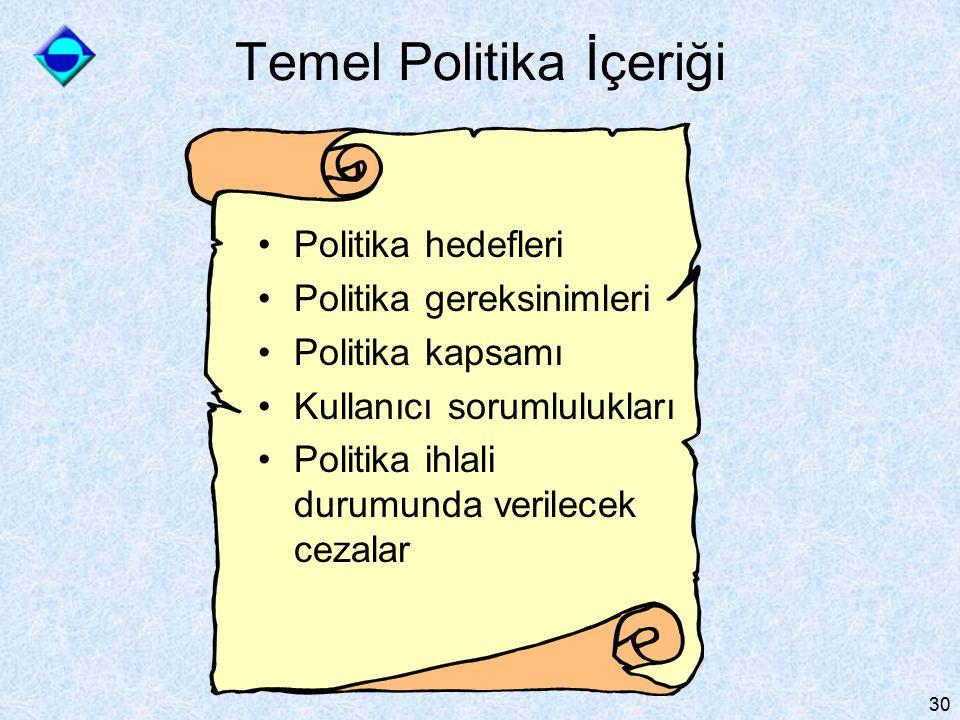 Temel Politika İçeriği
