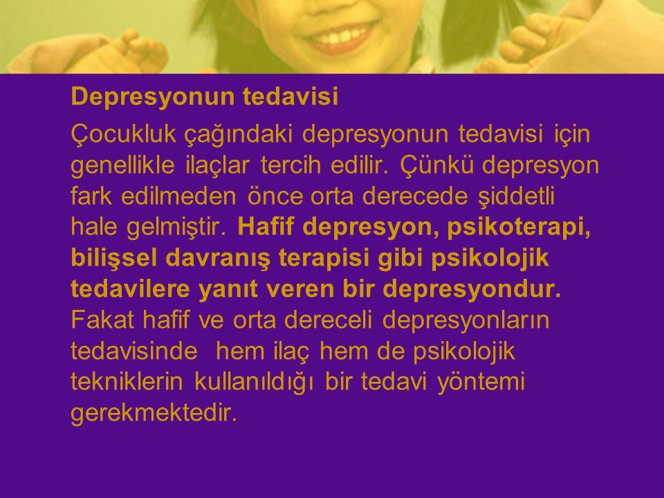 Depresyonun tedavisi