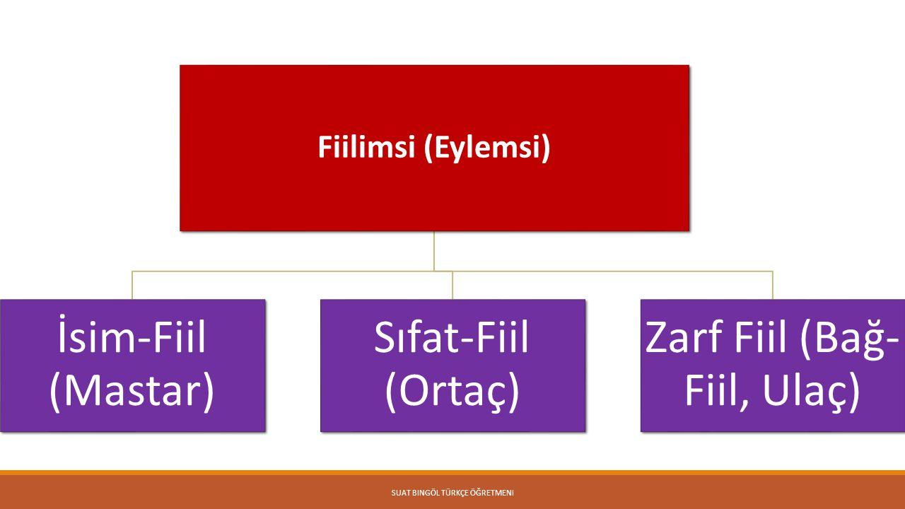 Zarf Fiil (Bağ-Fiil, Ulaç)