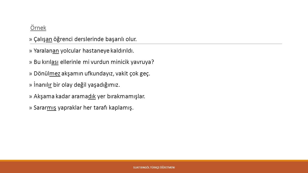 Suat Bingöl Türkçe Öğretmeni