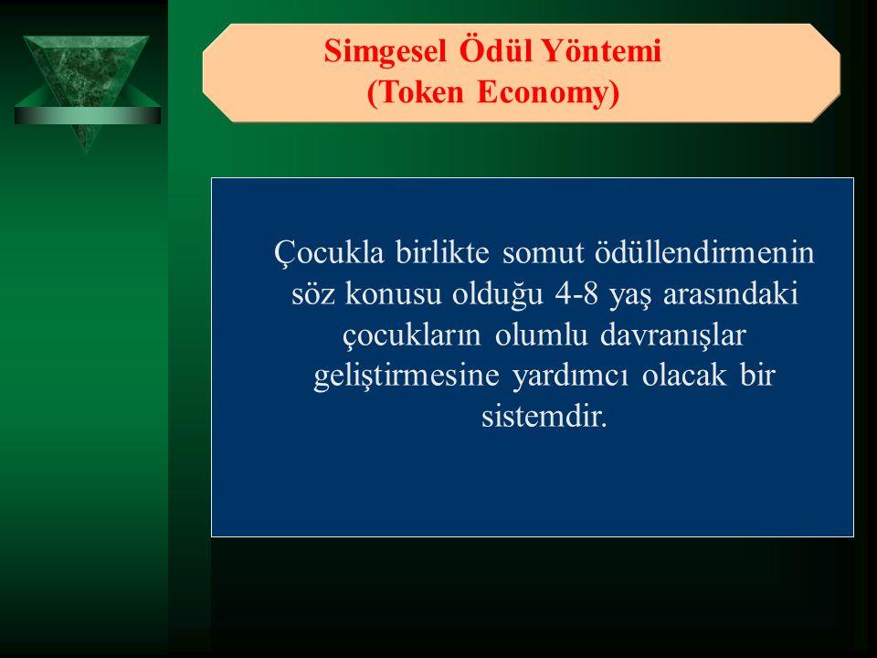 Simgesel Ödül Yöntemi (Token Economy)