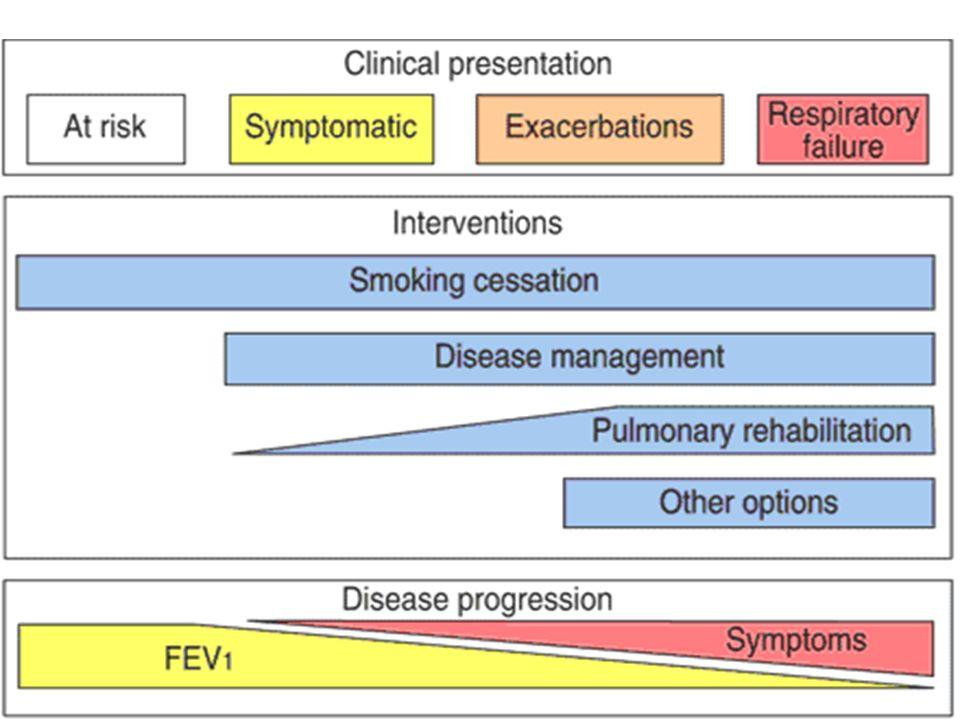 BU slide ATS_ERS KOAH tanı ve tedavi ortak konsensusundan alınan şemayı görüyoruz.