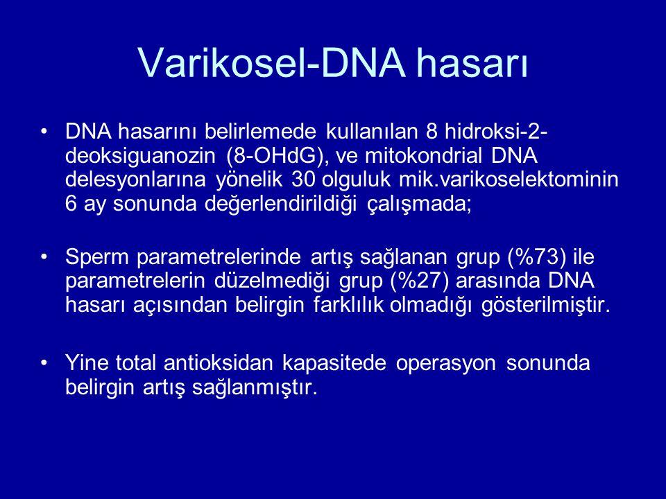 Varikosel-DNA hasarı