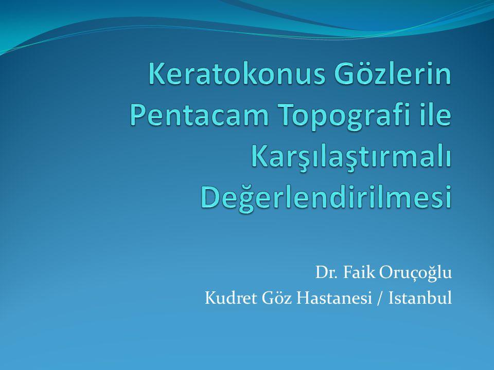 Dr. Faik Oruçoğlu Kudret Göz Hastanesi / Istanbul