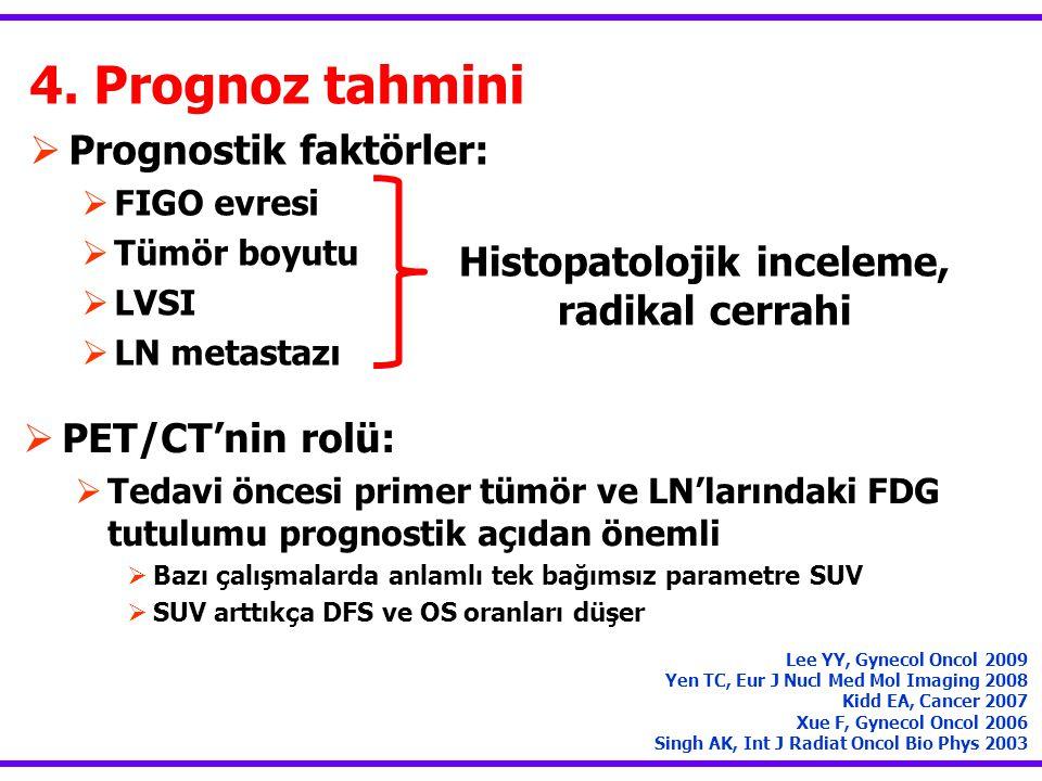 Histopatolojik inceleme, radikal cerrahi